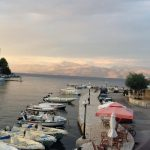 Kassiopi harbour by Brian Avery Sept 2012